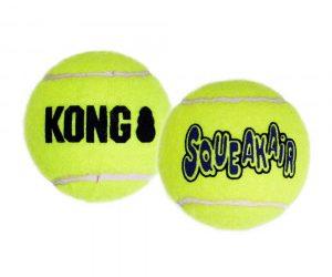 Drijvende tennisballen