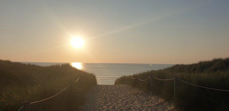 Zonsondergang Texel